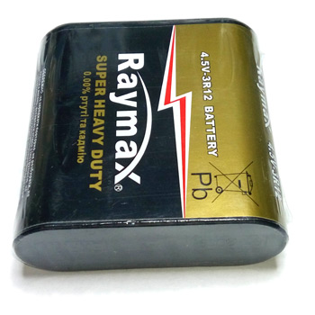 Батарейка Raymax 3R12 4.5в Super Heavy Duty