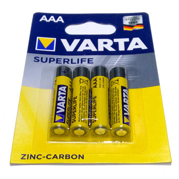 Батарейка Varta AAA SuperLife