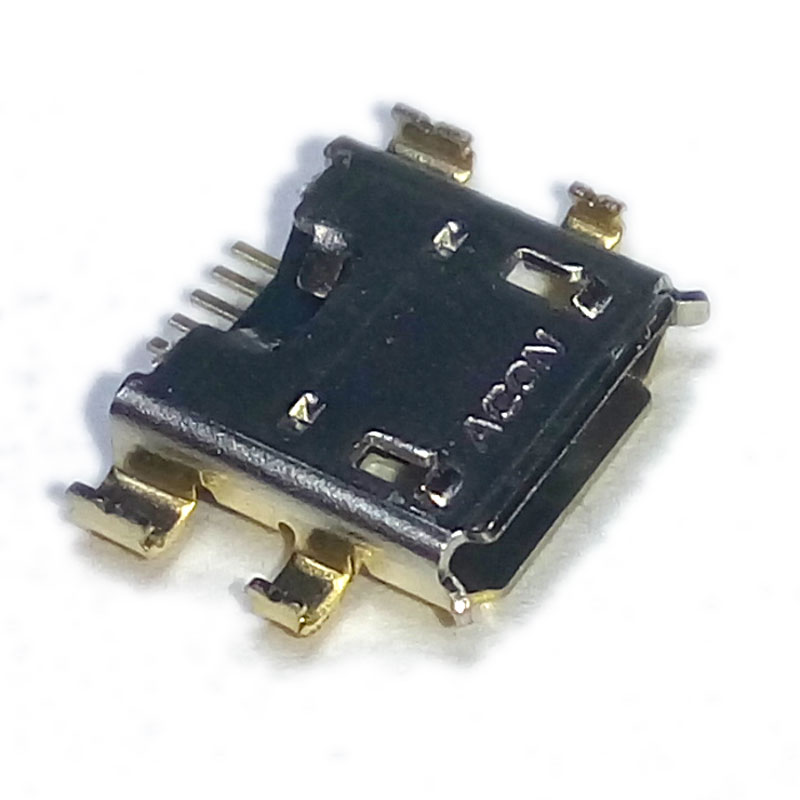 Гнездо microUSB (5pin) SMD на платy Nexus7 (2nd gen)