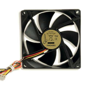 Cooler 92x92mm Gembird 3-pin Fancase2