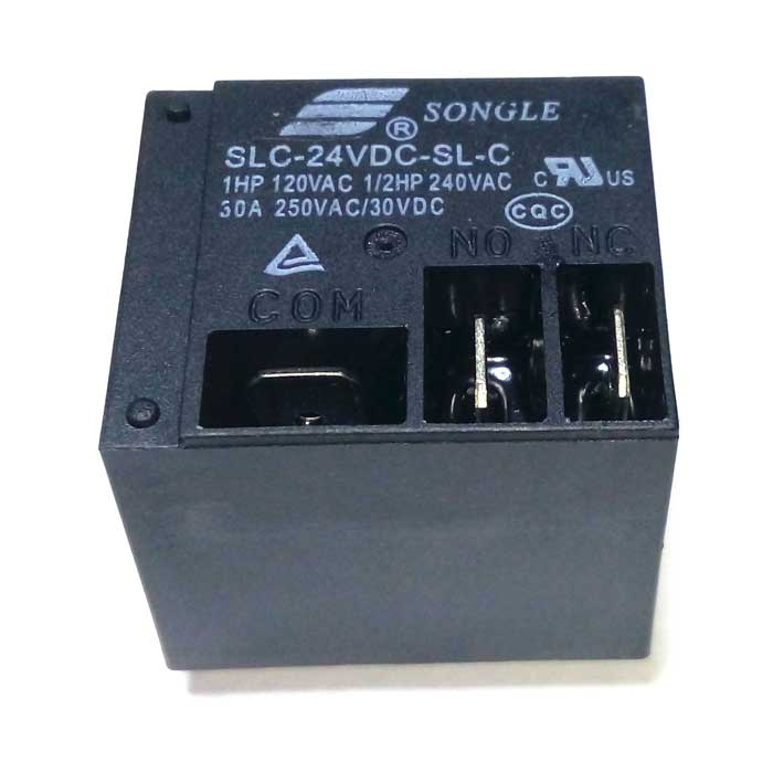 Реле SLC-24VDC-SL-C (T91) 24VDC Songle 20A