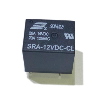 Реле SRA-12VDC-CL (T74) 12VDC Songle 10A