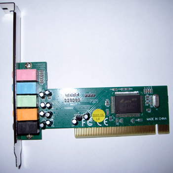 �������� ����� PCI C-Media 8738 4-channel